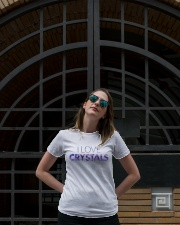 I Love Crystals V2 Ladies T-Shirt lifestyle-women-crewneck-front-1
