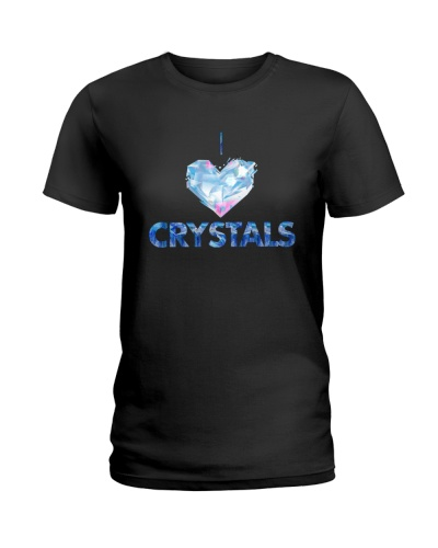 I Love Crystals Shirts by AtPerry's