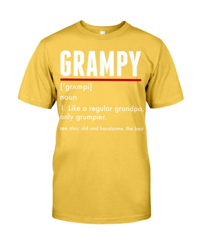 Grampy For Grumpy Grandfather