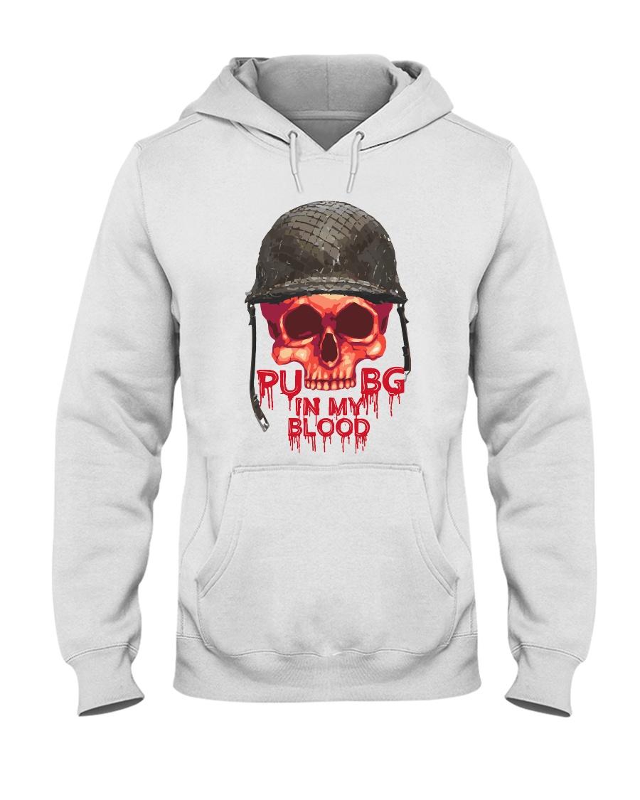 PUBG IN MY Blood Hooded Sweatshirt