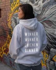 PUBG IN MY Blood Hooded Sweatshirt lifestyle-unisex-hoodie-back-1