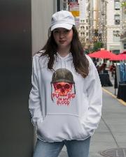 PUBG IN MY Blood Hooded Sweatshirt lifestyle-unisex-hoodie-front-5