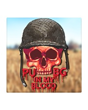 PUBG IN MY Blood Square Coaster front