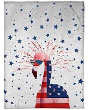"Perfect T shirt for Flamingo lovers Large Fleece Blanket - 60"" x 80"" thumbnail"