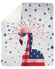 "Perfect T shirt for Flamingo lovers Sherpa Fleece Blanket - 50"" x 60"" thumbnail"