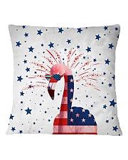 Perfect T shirt for Flamingo lovers Square Pillowcase thumbnail