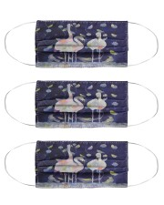 Perfect T shirt for Flamingo lovers Cloth Face Mask - 3 Pack thumbnail