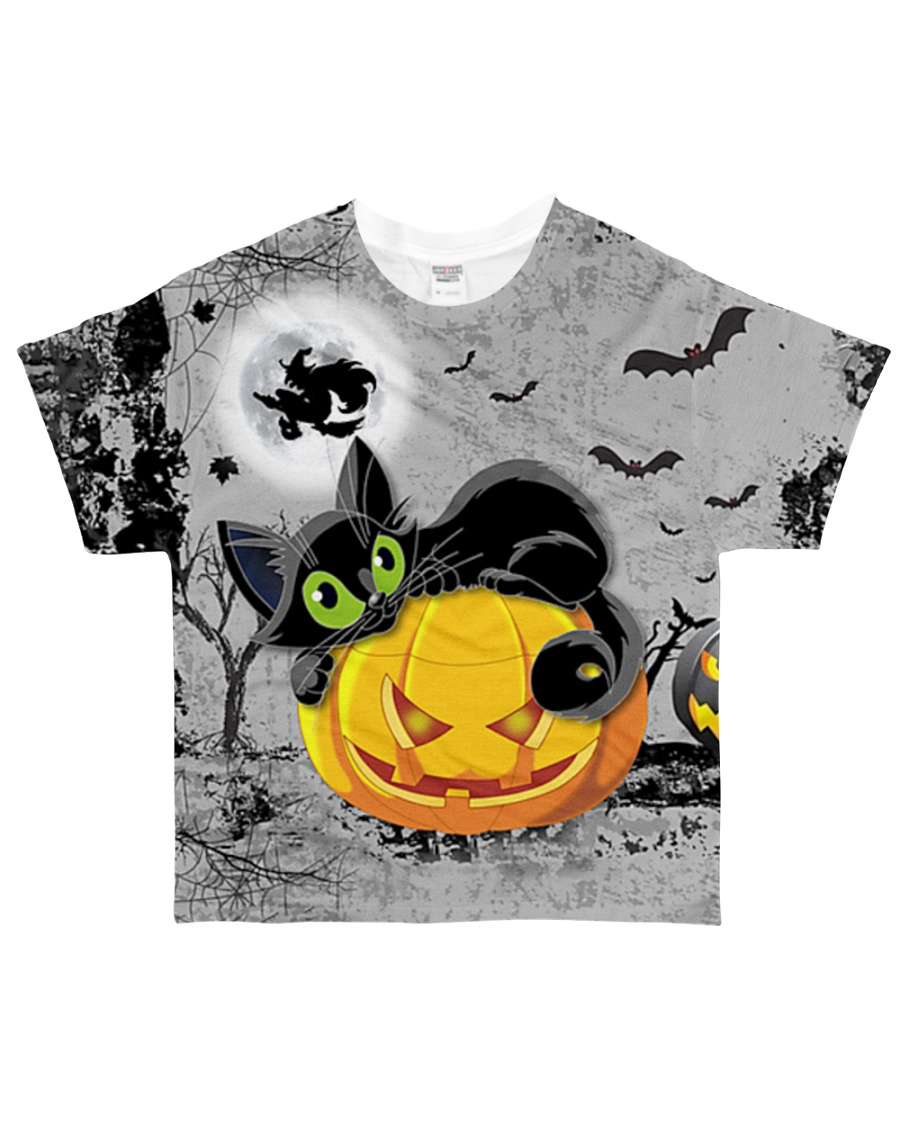 Halloween Cat Tee All-over T-Shirt