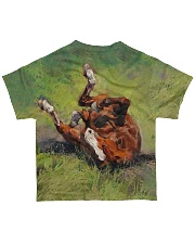 horse663a All-over T-Shirt back
