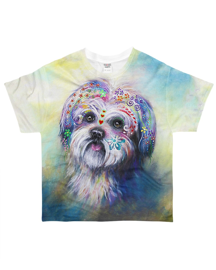 PERFECT T SHIRT FOR SHIH TZU LOVERS O All-over T-Shirt