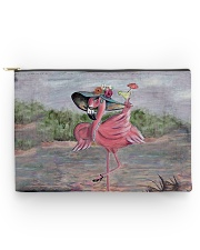 Perfect T shirt for Flamingo lovers Accessory Pouch - Large thumbnail