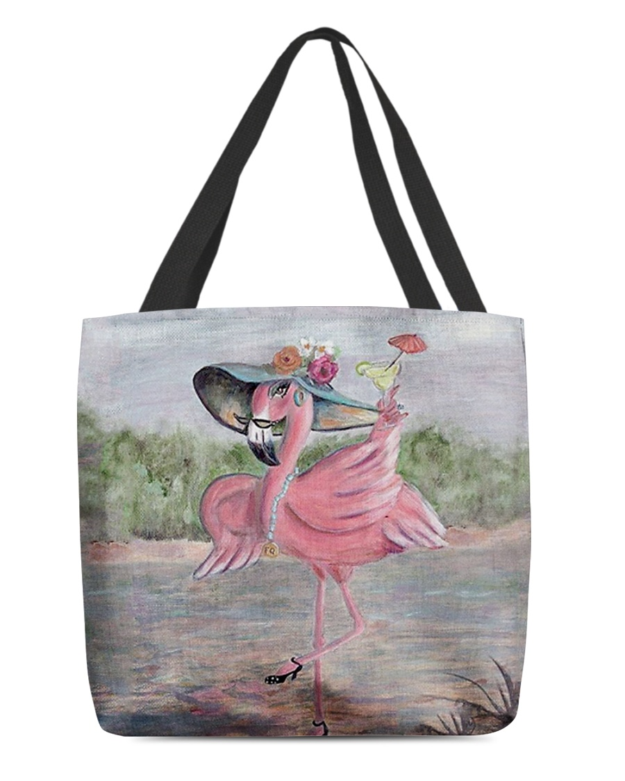 Perfect T shirt for Flamingo lovers All-over Tote