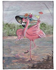 "Perfect T shirt for Flamingo lovers Large Fleece Blanket - 60"" x 80"" thumbnail"