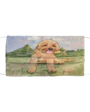 Perfect T shirt for Goldendoodle lovers Cloth face mask thumbnail
