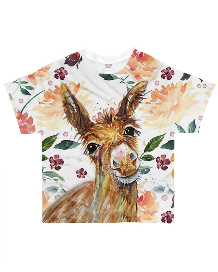 Perfect T shirt for Donkey lovers All-over T-Shirt