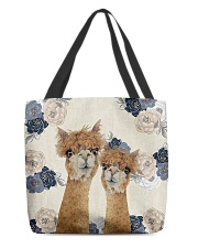 Perfect T shirt for Llama and Alpaca lovers All-Over Tote tile