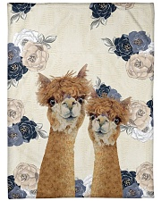 "Perfect T shirt for Llama and Alpaca lovers Large Fleece Blanket - 60"" x 80"" thumbnail"