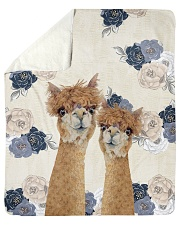 Perfect T shirt for Llama and Alpaca lovers Sherpa Fleece Blanket tile