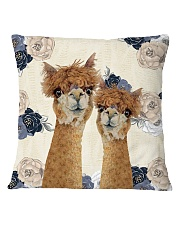 Perfect T shirt for Llama and Alpaca lovers Square Pillowcase thumbnail