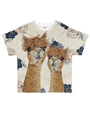 Perfect T shirt for Llama and Alpaca lovers All-Over T-Shirt tile