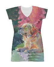 Perfect T shirt for Golden Retriever lovers All-over Dress thumbnail