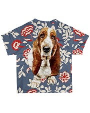 Perfect T shirt Basset Hound lovers All-over T-Shirt back