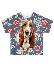 Perfect T shirt Basset Hound lovers All-over T-Shirt front