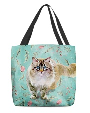 Perfect Gift For Cat Lovers All-over Tote thumbnail