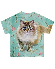 Perfect Gift For Cat Lovers All-over T-Shirt back