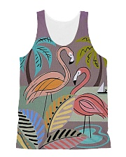 Perfect T shirt for Flamingo lovers All-Over Unisex Tank tile