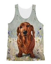Dachshund Tee All-over Unisex Tank thumbnail