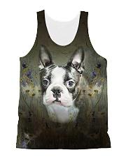 Boston Terrier Tee All-over Unisex Tank thumbnail