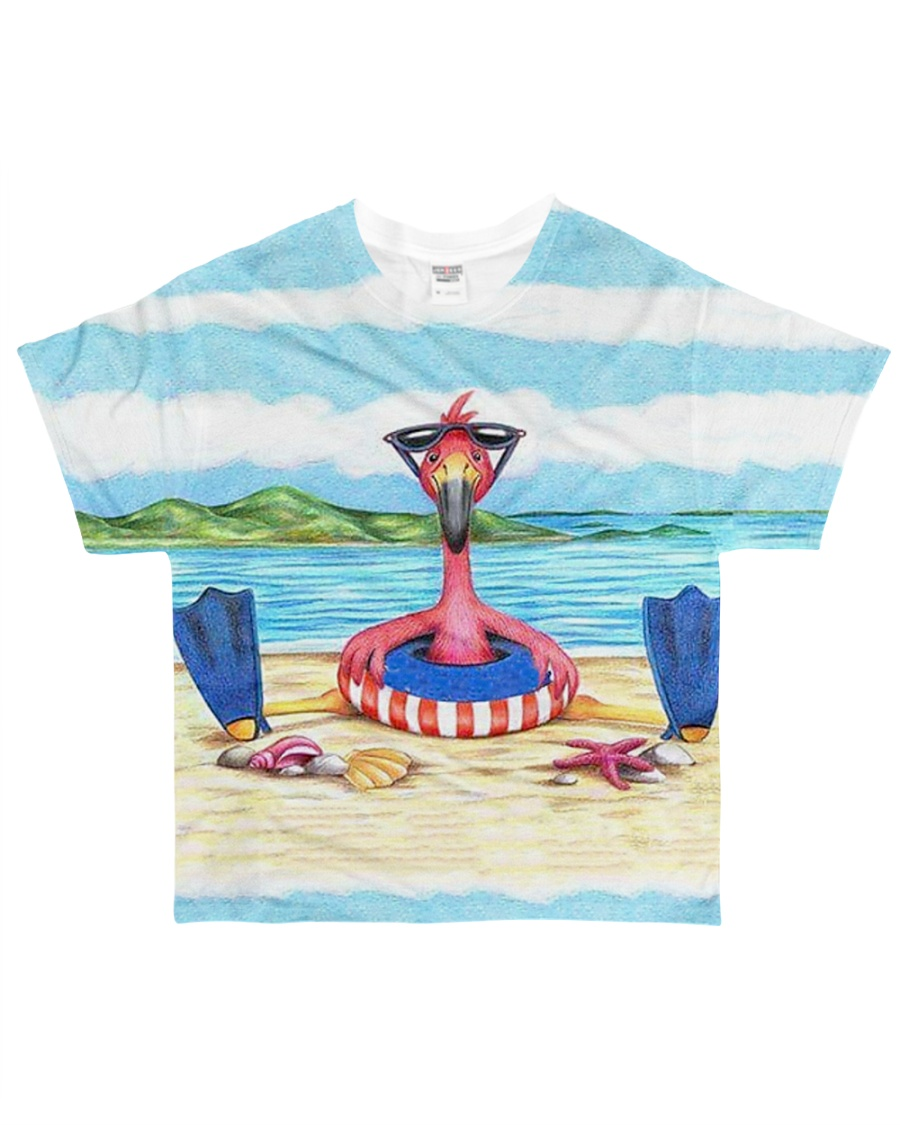 Perfect T shirt for Flamingo lovers All-over T-Shirt