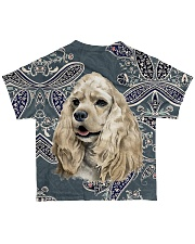 Cocker spaniels Tee All-over T-Shirt back