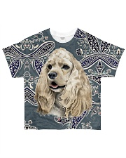 Cocker spaniels Tee All-over T-Shirt front