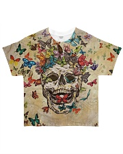 Perfect Gift For Skulls Lovers All-over T-Shirt front