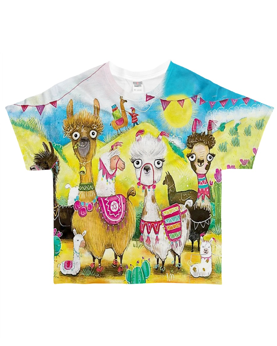 Perfect T shirt for Alpaca and Llama lovers All-over T-Shirt