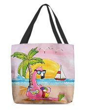 Perfect T shirt for Flamingo lovers All-over Tote thumbnail