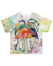 Perfect T shirt for Flamingo lovers All-Over T-Shirt tile