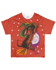 Halloween Dachshund Tee All-over T-Shirt front