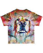 Perfect T shirt for Golden Retriever lovers All-over T-Shirt back