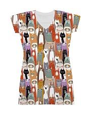 For Cat Lover All-over Dress thumbnail