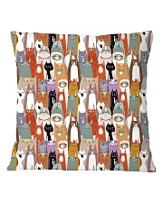For Cat Lover Square Pillowcase thumbnail