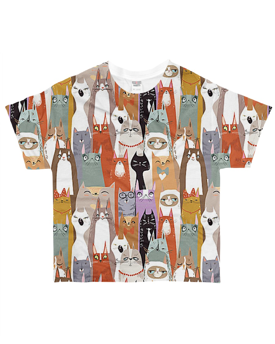 For Cat Lover All-over T-Shirt