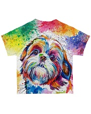 PERFECT GIFT FOR SHIH TZU LOVERS All-over T-Shirt back