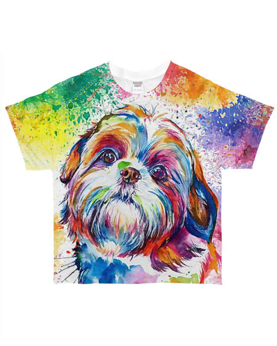 PERFECT GIFT FOR SHIH TZU LOVERS All-over T-Shirt