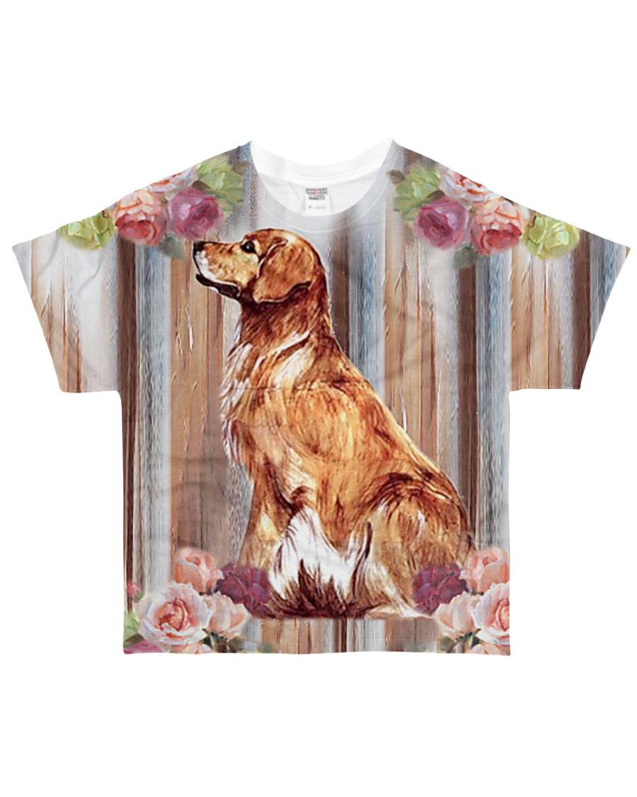 Perfect T shirt for Golden Retriever lovers All-over T-Shirt