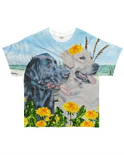 PERFECT T SHIRT FOR LABRADOR RETRIEVER LOVERS All-over T-Shirt front