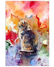 Cat Tee Vertical Poster tile