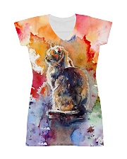 Cat Tee All-Over Dress tile